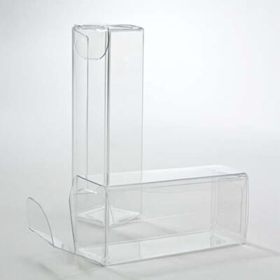 Clear PVC box
