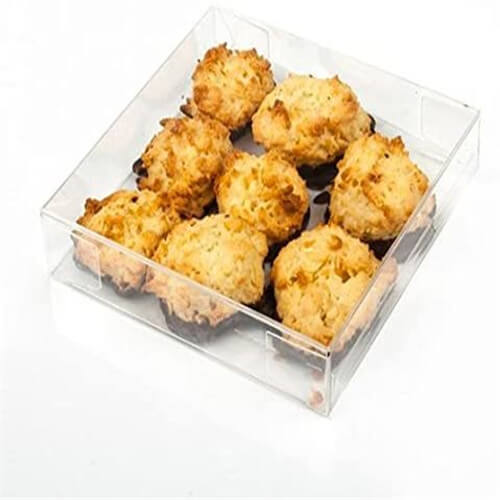 PET box for foods packing