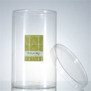 clear cylinder packaging