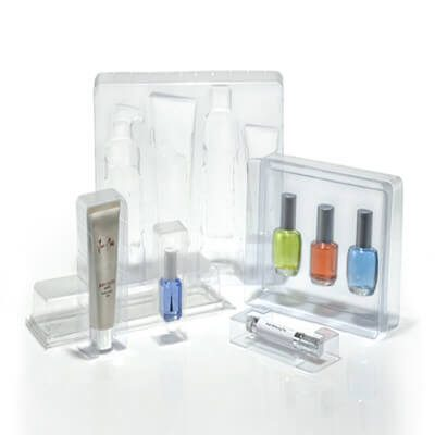 clear plastic box for cosmetic