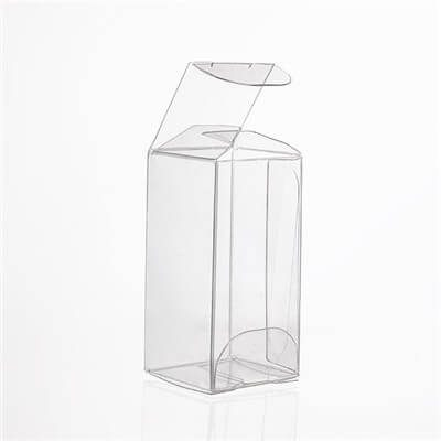 clear plastic folding box